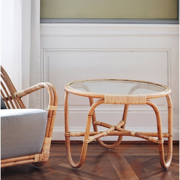 Charlottenborg Arne Jacobsen Glass Chat Table by Sika Design