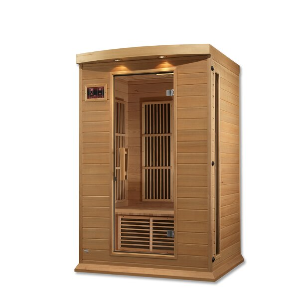 Luxury 2 Person FAR Infrared Sauna by Dynamic Infrared