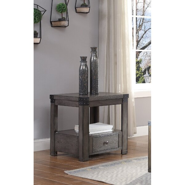 Willia End Table With Storage By Gracie Oaks