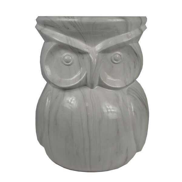 Dichiera Owl Garden Stool by August Grove August Grove
