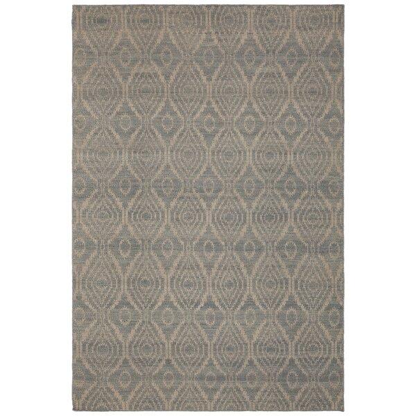 Jones Hand-Woven Wool Beige Area Rug by Union Rustic