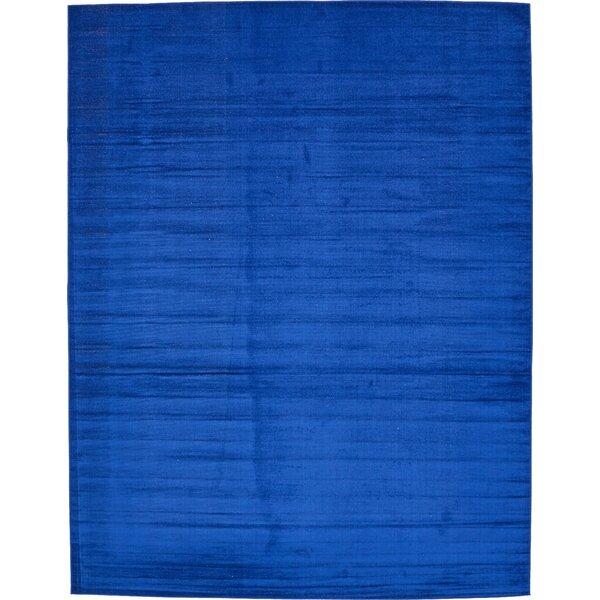 Risley Navy Blue Area Rug by Mercury Row