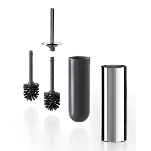 Gealuna Free-Standing Toilet Brush and Holder by WS Bath CollectionsGealuna Free-Standing Toilet Brush and Holder by WS Bath Collections
