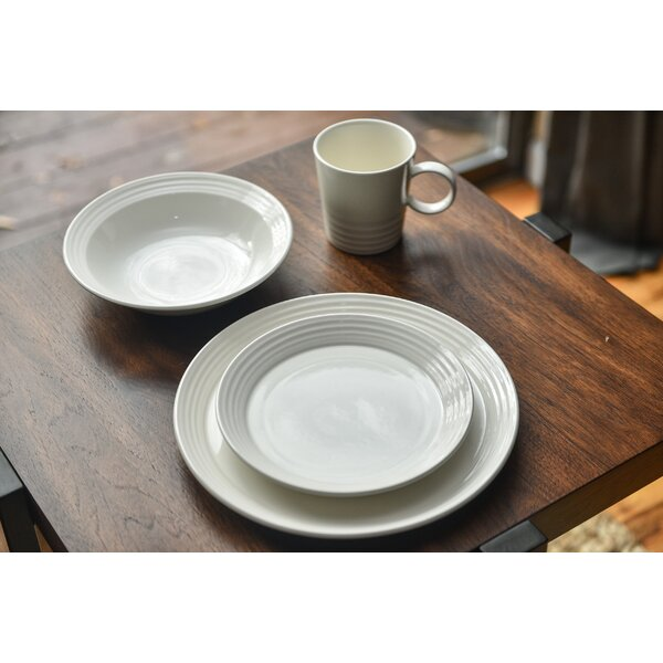 Terrastone 16 Piece Dinnerware Set, Service for 4 by Red Vanilla