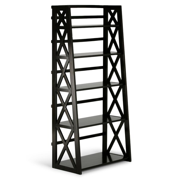 Burriss Etager Ladder Bookcase By Charlton Home