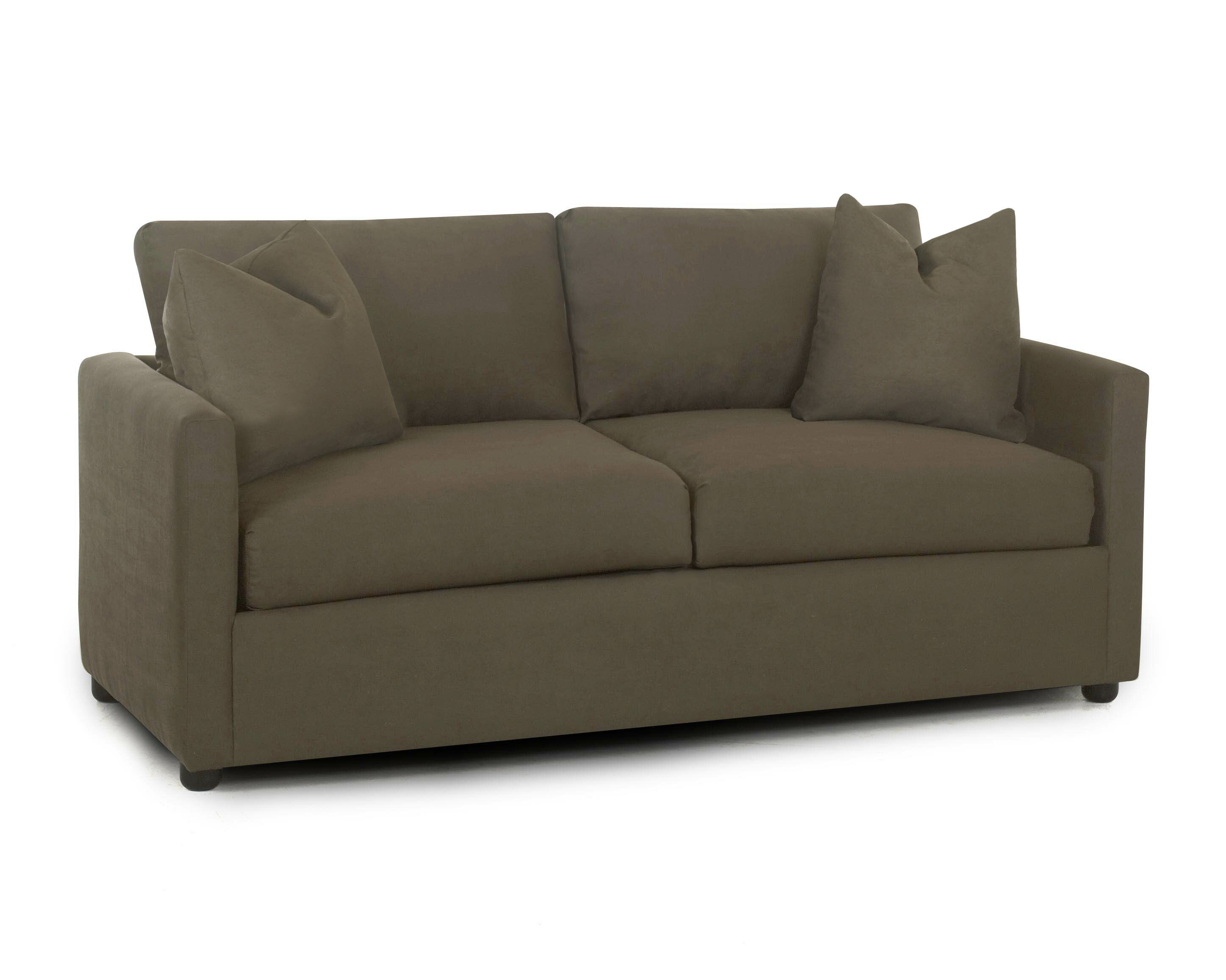Darby home co greenlaw jacobs enso memory foam regular sleeper loveseat wayfair