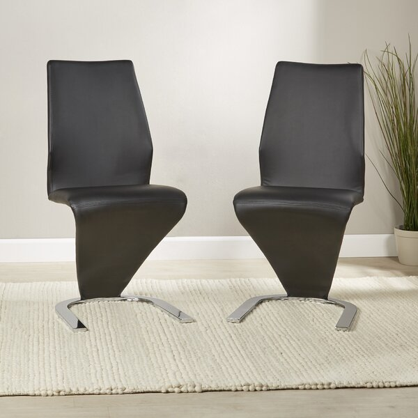 Clower Contemporary Upholstered Side Chair (Set Of 2) By Orren Ellis