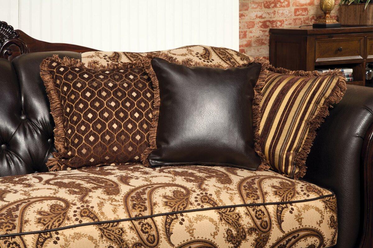 Maximillia Two Tone Classic Sofa