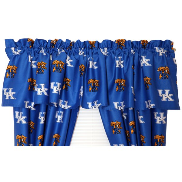 NCAA Kentucky Printed Rod Pocket Curtain Valance by College Covers