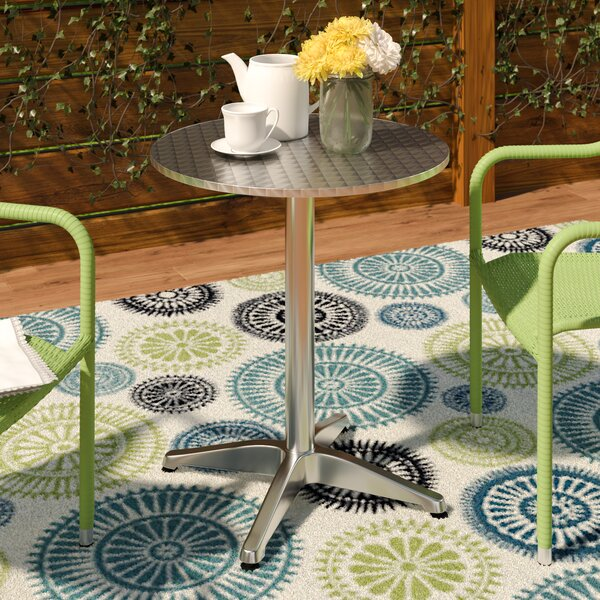 Lula Metal Dining Table By Zipcode Design