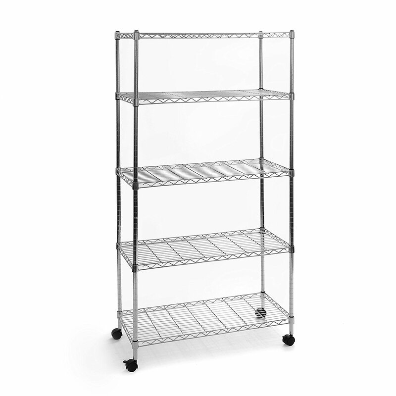 Wayfair Basics™ Wayfair Basics 5 Shelf Wire Shelving Unit & Reviews ...