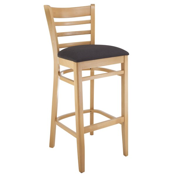 Jiminez Ladderback 30 Bar Stool by Charlton Home