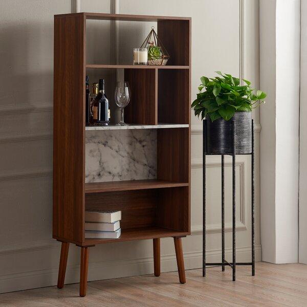 Bayamo Geometric Bookcase By Wrought Studio