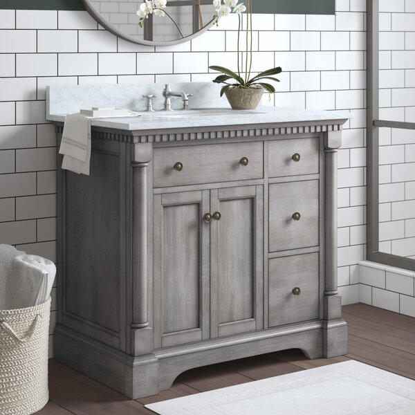Seadrift 37 Single Bathroom Vanity Set by Greyleig