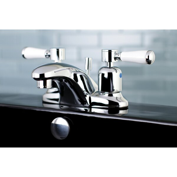 Paris Centerset Bathroom Faucet With Drain Assembly By Kingston Brass