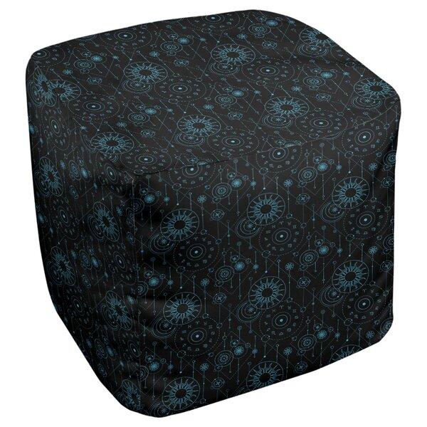 Leffel Astrology Cube Ottoman by Ebern Designs