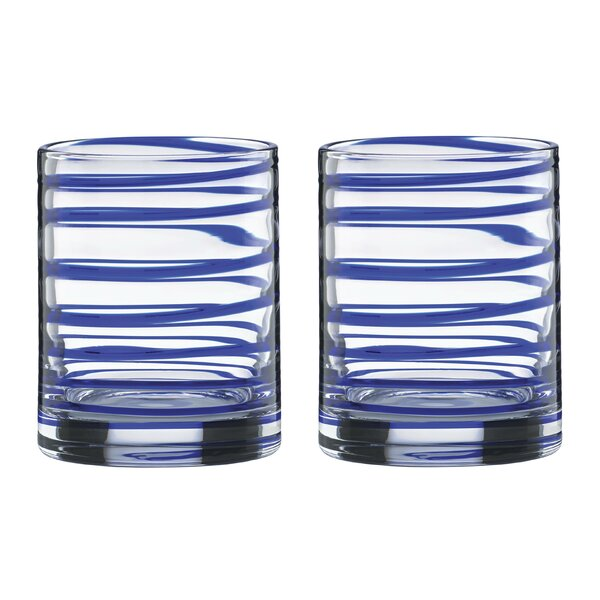 Charlotte Street 12 oz. Old Fashioned Glass (Set of 2) by kate spade new york
