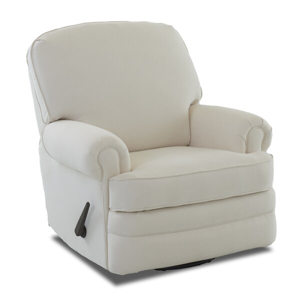 Emily Swivel Reclining Glider by Wayfair Custom Upholstery™
