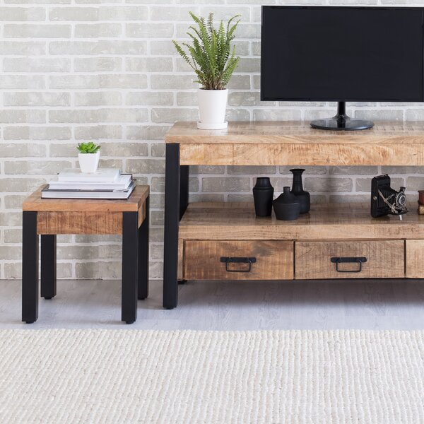Weatherby End Table By Union Rustic