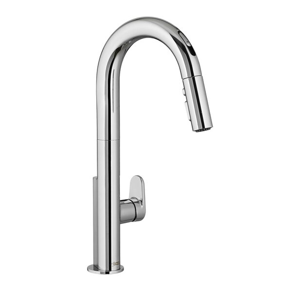 Beale Pull Down Single Handle Kitchen Faucet with Re-Trax and Dock-Tite by American Standard