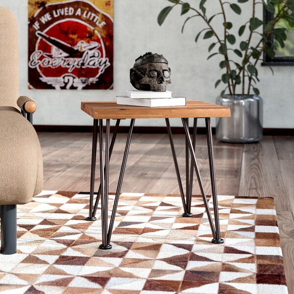 Guyapi Indoor Wood End Table by Trent Austin Design