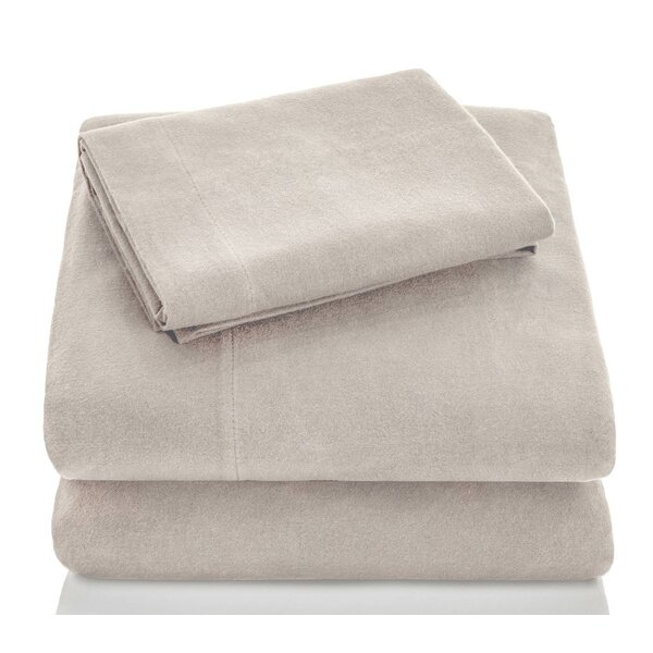 Flannel 4 Piece Sheet Set by Alwyn Home