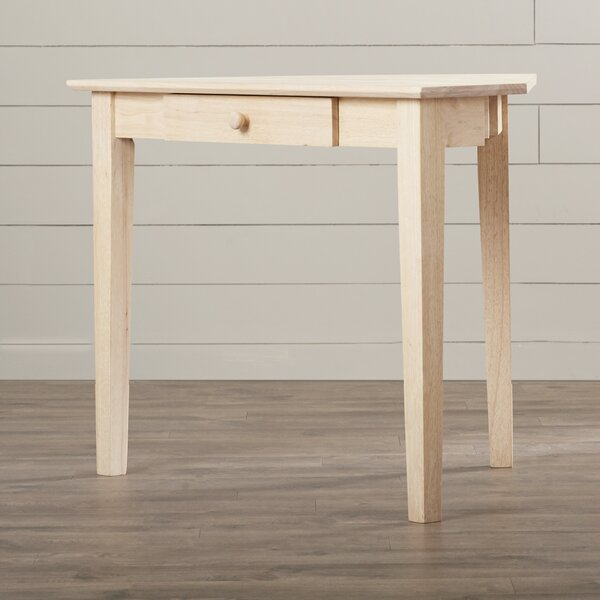 Toby Solid Wood Corner Writing Desk