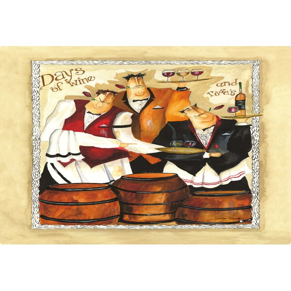 Days of Wine and Roses by Jennifer Garant Non-Slip Flexible Cutting Board by Magic Slice