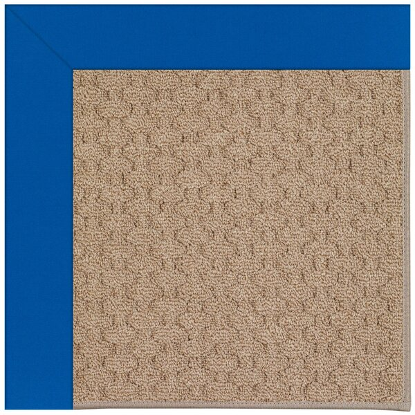 Lisle Machine Tufted Reef Blue/Brown Indoor/Outdoor Area Rug by Longshore Tides