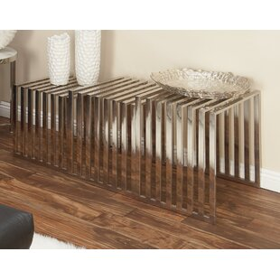 Stainless Steel 3 Piece Nesting Tables