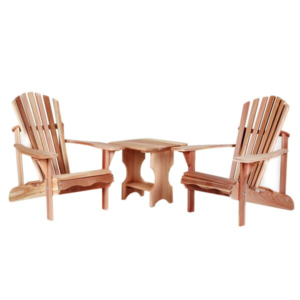 Ardoin 3 Piece Conversation Set by Union Rustic