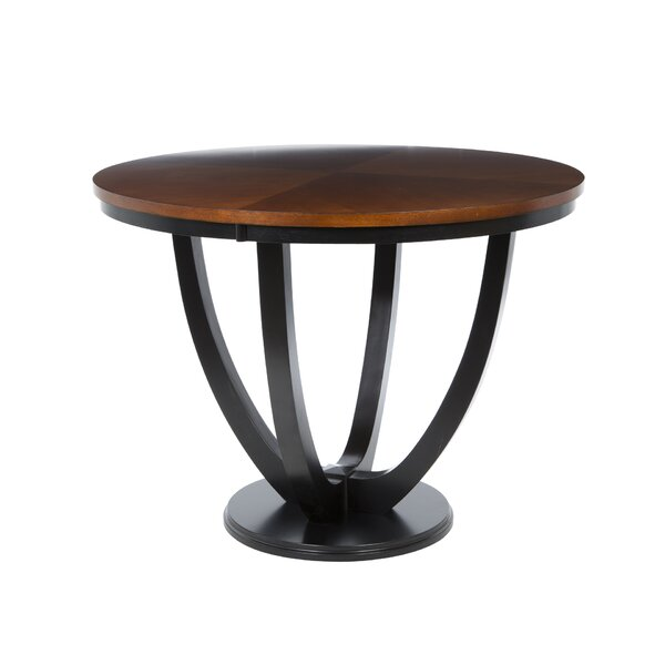 Sarris Round Counter Height Dining Table by Bloomsbury Market