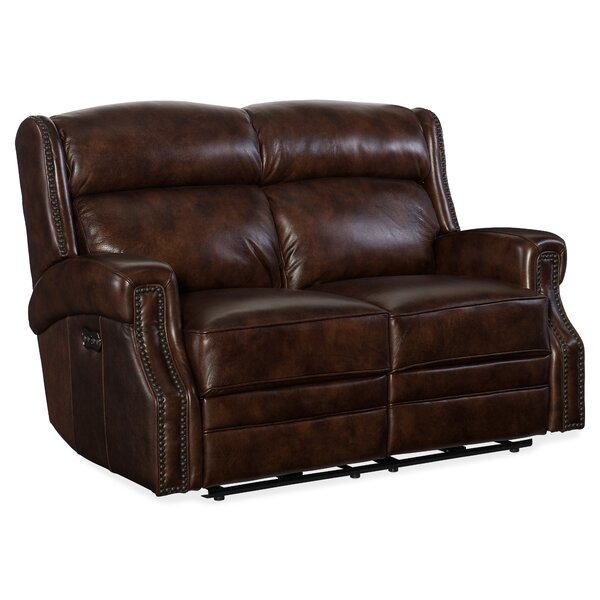 Carlisle Power Motion Reclining Loveseat by Hooker Furniture