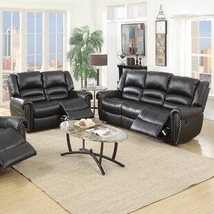 Ingaret 2 Piece Reclining Living Room Set by Red Barrel Studio®