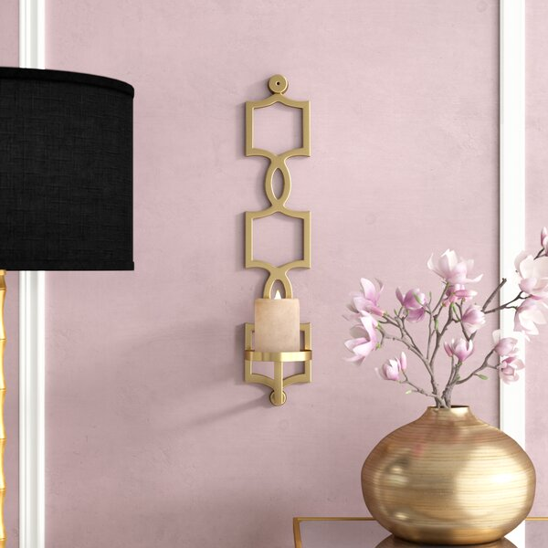 Metal Sconce by Willa Arlo Interiors