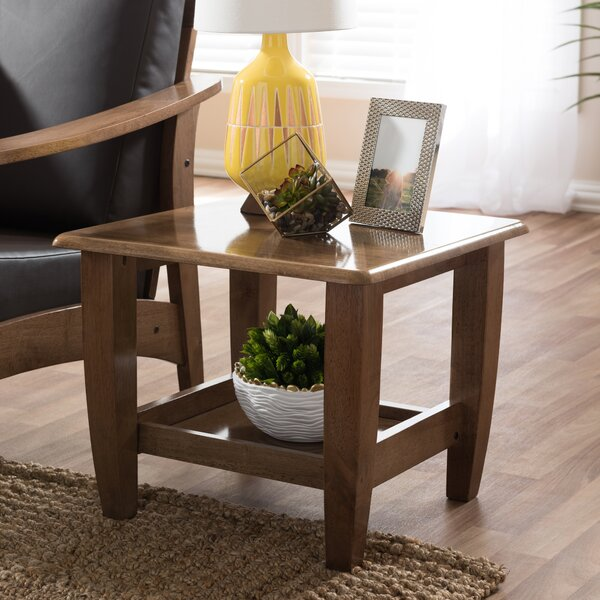 Baxton Studio End Table by Wholesale Interiors