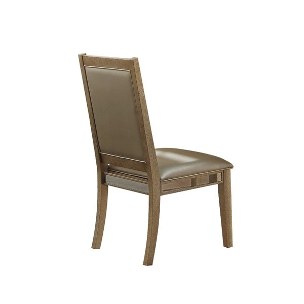 Isai Upholstered Dining Chair (Set of 2) by Rosdorf Park