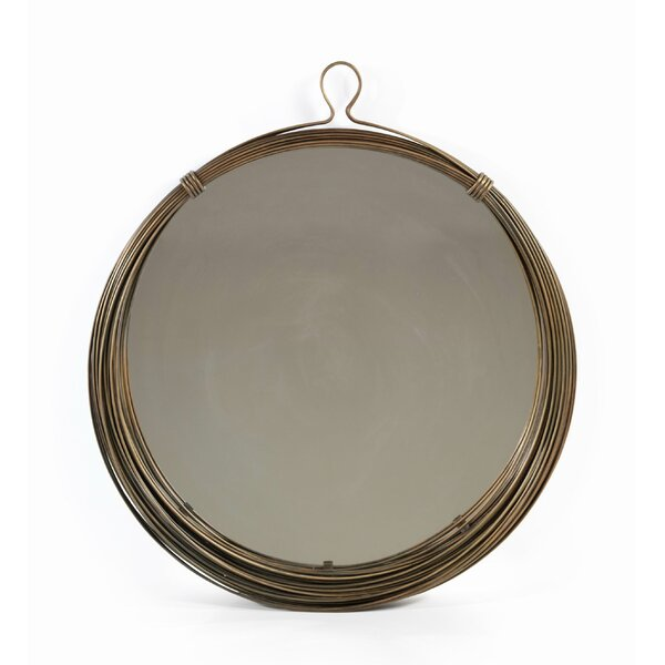 Glass Accent Mirror by Bloomsbury Market