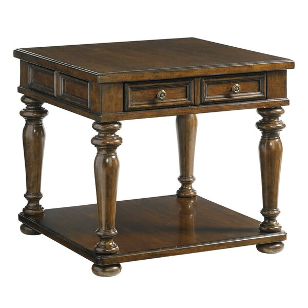 Coventry Hills Fairfield End Table with Storage by Lexington