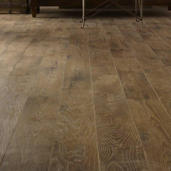 Restoration 6'' x 51'' x 12mm Oak Laminate Flooring in Ash by Mannington