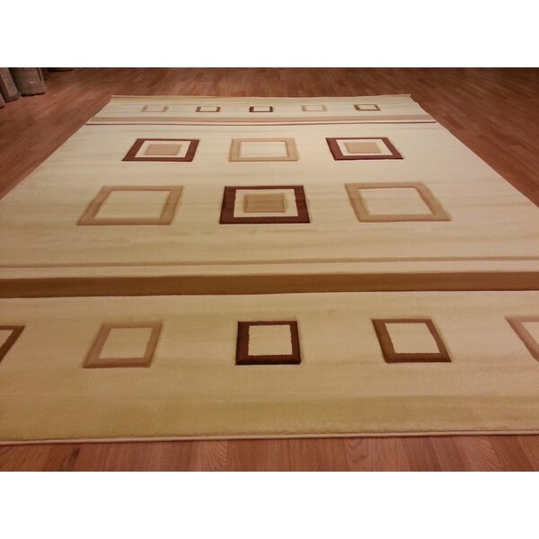 Hand-Carved Beige Area Rug by Rug Tycoon