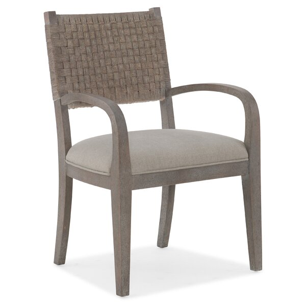 Carmel Upholstered Dining Arm Chair By Hooker Furniture