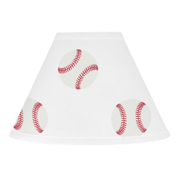 Baseball Patch 10 Fabric Empire Lamp Shade by Sweet Jojo Designs