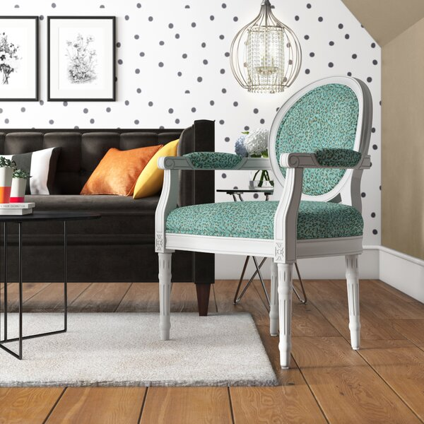 Persaud Armchair by World Menagerie World Menagerie