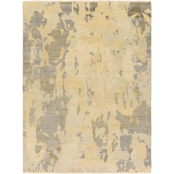 Seema Sea Foam/Olive Abstract Area Rug by Williston Forge
