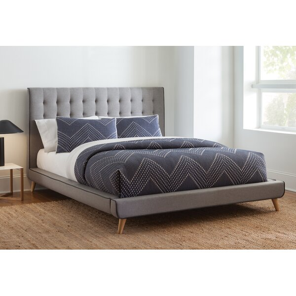 Minnesota Upholstered Platform Bed by Mercer41