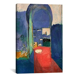 'Entrance to the Kasbeh, 1912' by Henri Matisse Painting Print on Canvas by Wrought Studio