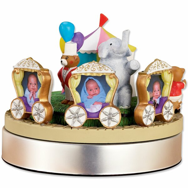 Wind Up Musical Circus Train Picture Frame by Lawrence Frames