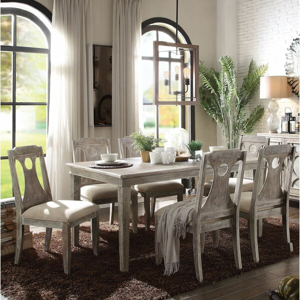 Denman 7 Pieces Dining Set by Gracie Oaks