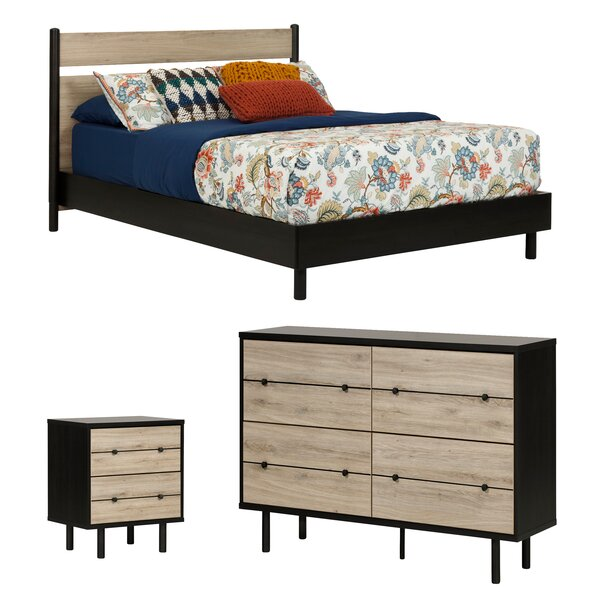 Bookout Queen Platform Configurable Bedroom Set by Langley Street